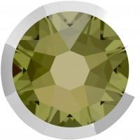 Xirius Rose Rimmed pietra strass ss34 Khaki & Lt. Chrome Z F