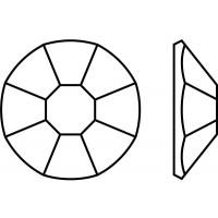 Rose 8 Facets Machine-Cut ss8 Light Siam F