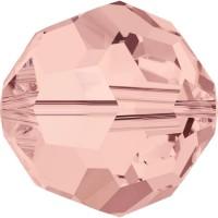 Round Perla (foro grande) 6mm Blush Rose