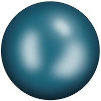 Ceramic Cabochon termoadesivo ss20 Blue Green HF