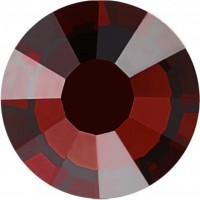 Rose strass termoadesivo ss6 Burgundy HF