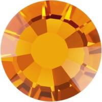 Rose strass termoadesivo ss6 Topaz HF