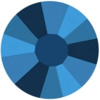 Rose strass termoadesivo ss16 Crystal Metallic Blue HF