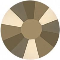 Rose strass termoadesivo ss16 Crystal Metallic Light Gold HF