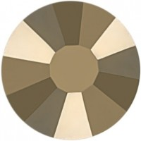 Rose strass termoadesivo ss20 Crystal Metallic Light Gold HF