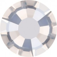 Rose strass termoadesivo ss34 Crystal Silver Shade HF