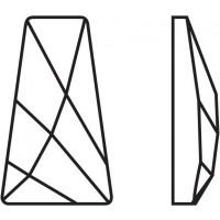 Wing termoadesivo 6x3.5mm Crystal HF