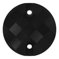Chessboard pietre da cucire piatto 2 fori 16mm Jet