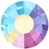 VIVA12 Rose pietra strass senza piombo ss8 (2.4mm) Crystal AB NEW F (00030ABN)