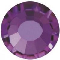 VIVA12 Rose pietra strass senza piombo ss8 (2.4mm) Amethyst F (20050)