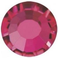 VIVA12 Rose pietra strass senza piombo ss8 (2.4mm) Ruby F (90110)