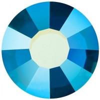 VIVA12 Rose pietra strass senza piombo ss16 (3.9mm) Capri Blue AB F (60310AB)