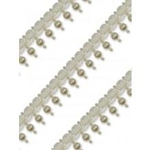Gallon perla Tondo perlato con bordo