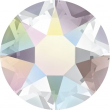 Xirius Rose hotfix strass termoadesivo ss34 Crystal AB HF