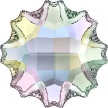 Jelly Fish pietra strass parziale opacizzato 14mm Crystal AB F