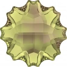 Jelly Fish pietra strass parziale opacizzato 14mm Crystal Luminous Green F