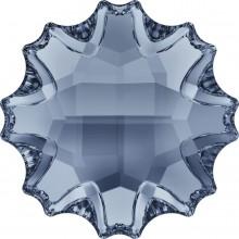 Jelly Fish  hotfix strass termoadesivo parziale opacizzato 10mm Crystal Blue Shade HF