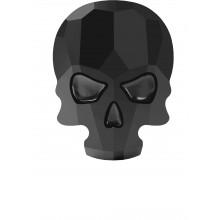 Skull hotfix strass termoadesivo 14x10.5mm Jet HF