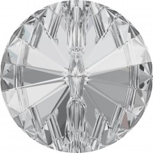 Rivoli Button 18mm Crystal F