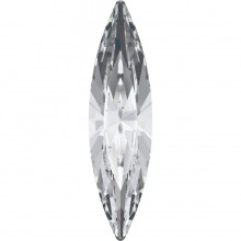 Navette Fancy Stone 35x9.5mm Crystal F