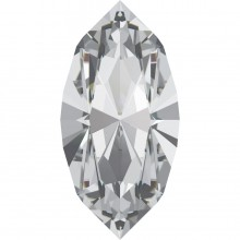 Xilion Navette 8x4mm Crystal F