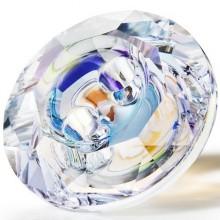 Maxima Button 2 fori 12mm Crystal AB F