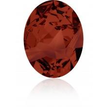 Kaputt Oval Fancy Stone parziale opacizzato 29x22.5mm Crystal Red Magma F