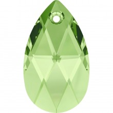 Pear-shaped Pendente 22mm Peridot