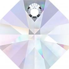 Octagon Pendente 12mm Crystal AB
