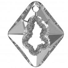 Growing Crystal Rhombus Pendente 36mm Crystal