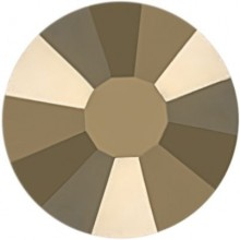 Rose strass termoadesivo ss10 Crystal Metallic Light Gold HF