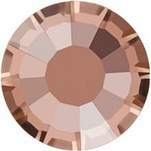 Rose strass termoadesivo ss30 Crystal Apricot HF