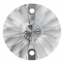 Rivoli pietre da cucire piatto 2 fori 12mm Crystal F