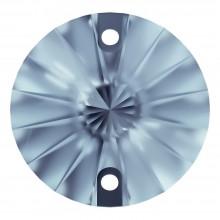 Rivoli pietre da cucire piatto 2 fori 10mm Light Sapphire F