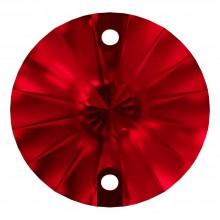 Rivoli pietre da cucire piatto 2 fori 16mm Light Siam F