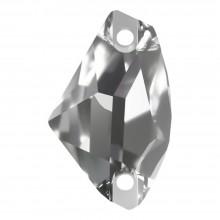 Galactic pietre da cucire piatto 2 fori 27x16mm Crystal F