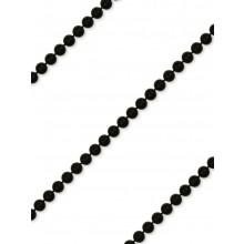 Gallon perla Tondo 4mm nero