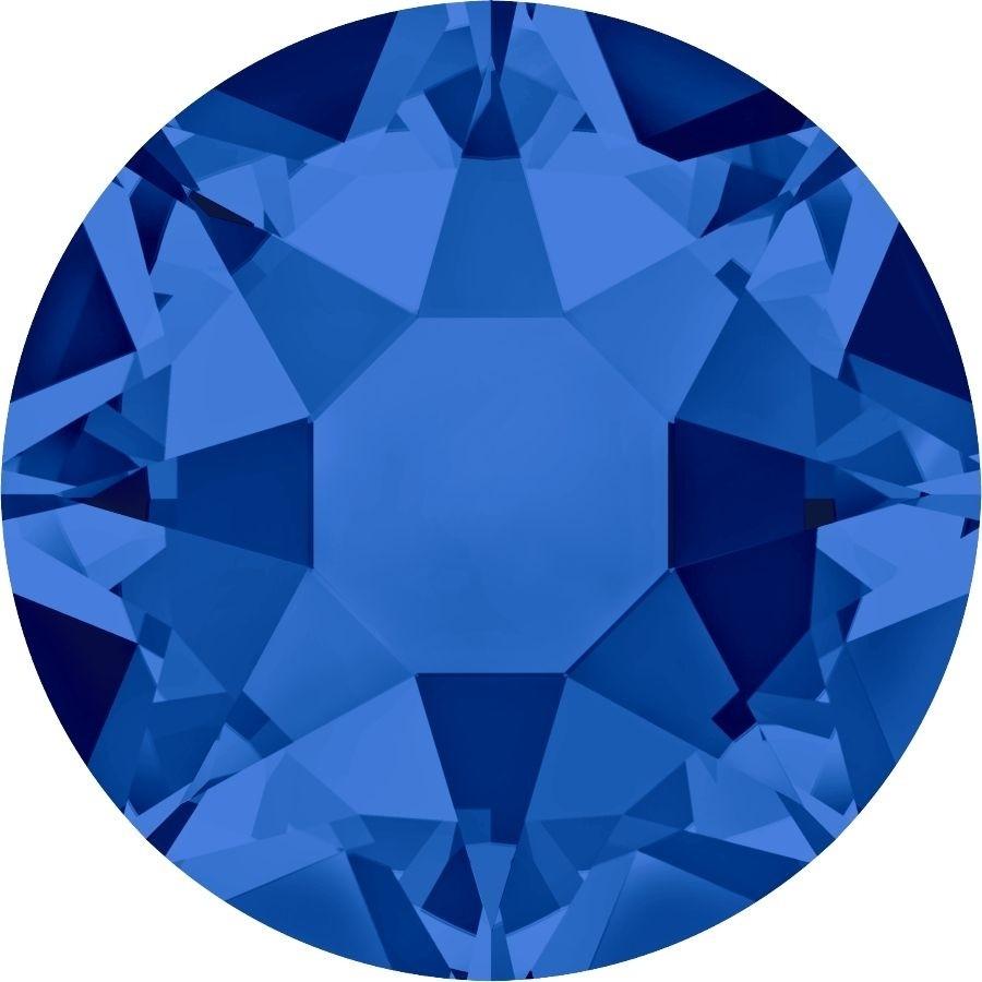 Xirius Rose hotfix strass termoadesivo ss34 Capri Blue HF