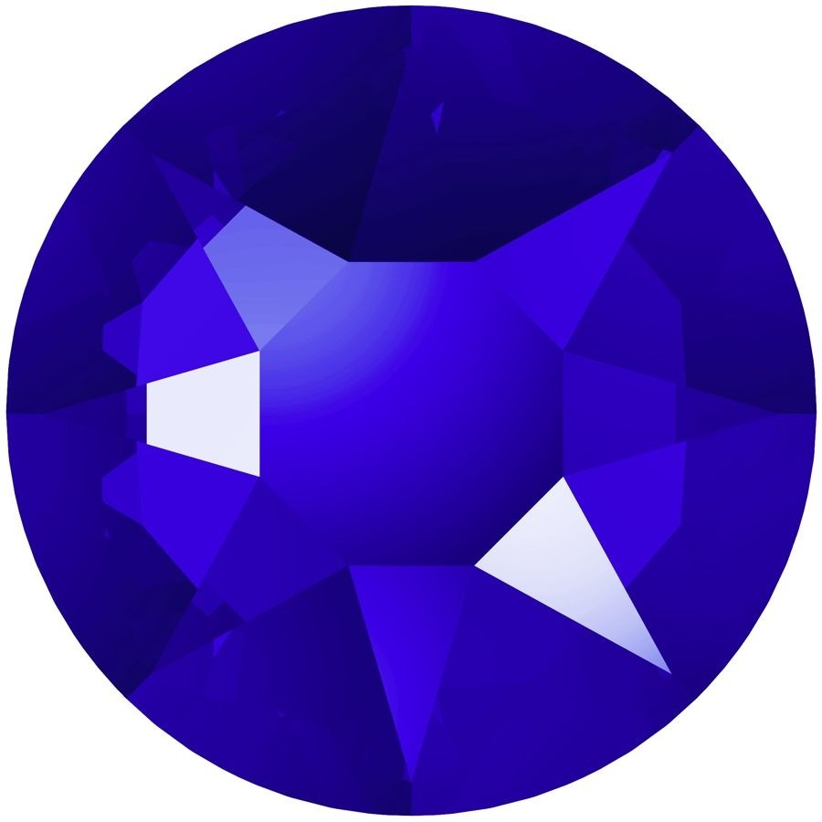 Xirius Rose hotfix strass termoadesivo ss34 Majestic Blue A HF