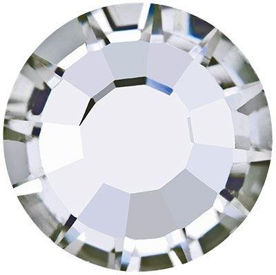 Rose hotfix strass termoadesivo senza piombo ss20 Crystal HF