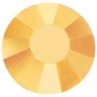 VIVA12 Rose hotfix strass termoadesivo ss10 Crystal Aurum HF