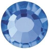 VIVA12 Rose hotfix strass termoadesivo ss8 Sapphire HF