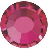 VIVA12 Rose hotfix strass termoadesivo ss6 Ruby HF